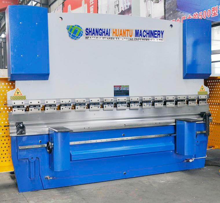 WE67K CNC Hydraulic Press Brake DA65W 6+1 Axis