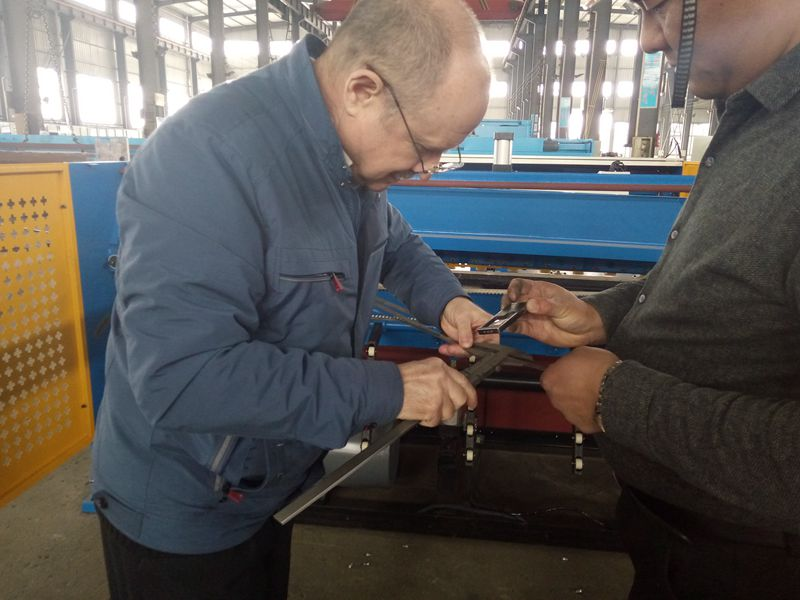 Russia customers coming for machine inspection