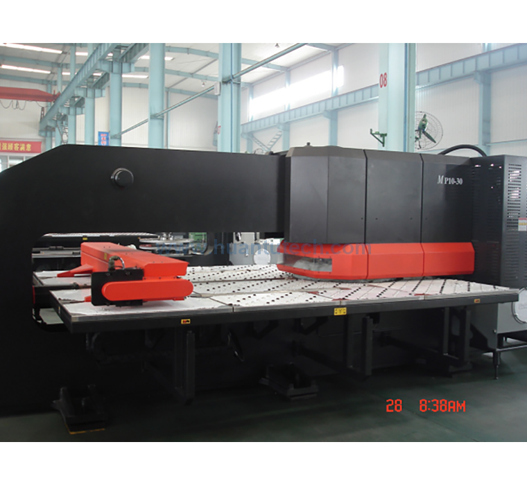 CNC Turret Punching Machine  MP10-30 (4-AXIS)