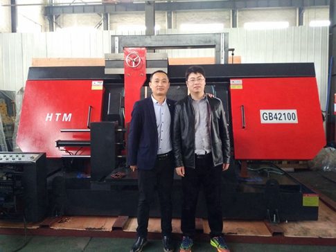 GB42100 Big Band Saw Machine Export to Singapore